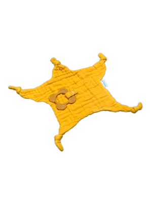 Teether Bamboo - mustard
