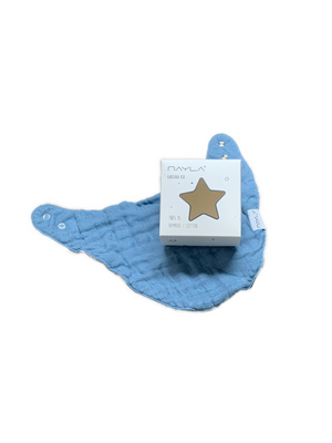 Bandana Bib Bamboo - night blue