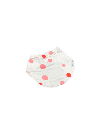 Bandana Bib - dots girl
