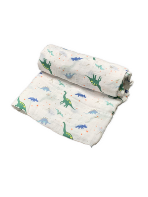 Mini Swaddle - dino