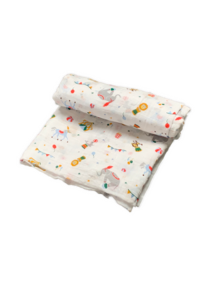 Mini Swaddle - circus