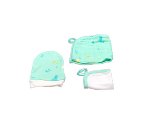 Washcloth Set of 3 - beach