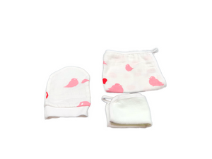 Washcloth Set of 3 - birdy