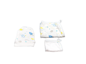 Washcloth Set of 3 - space