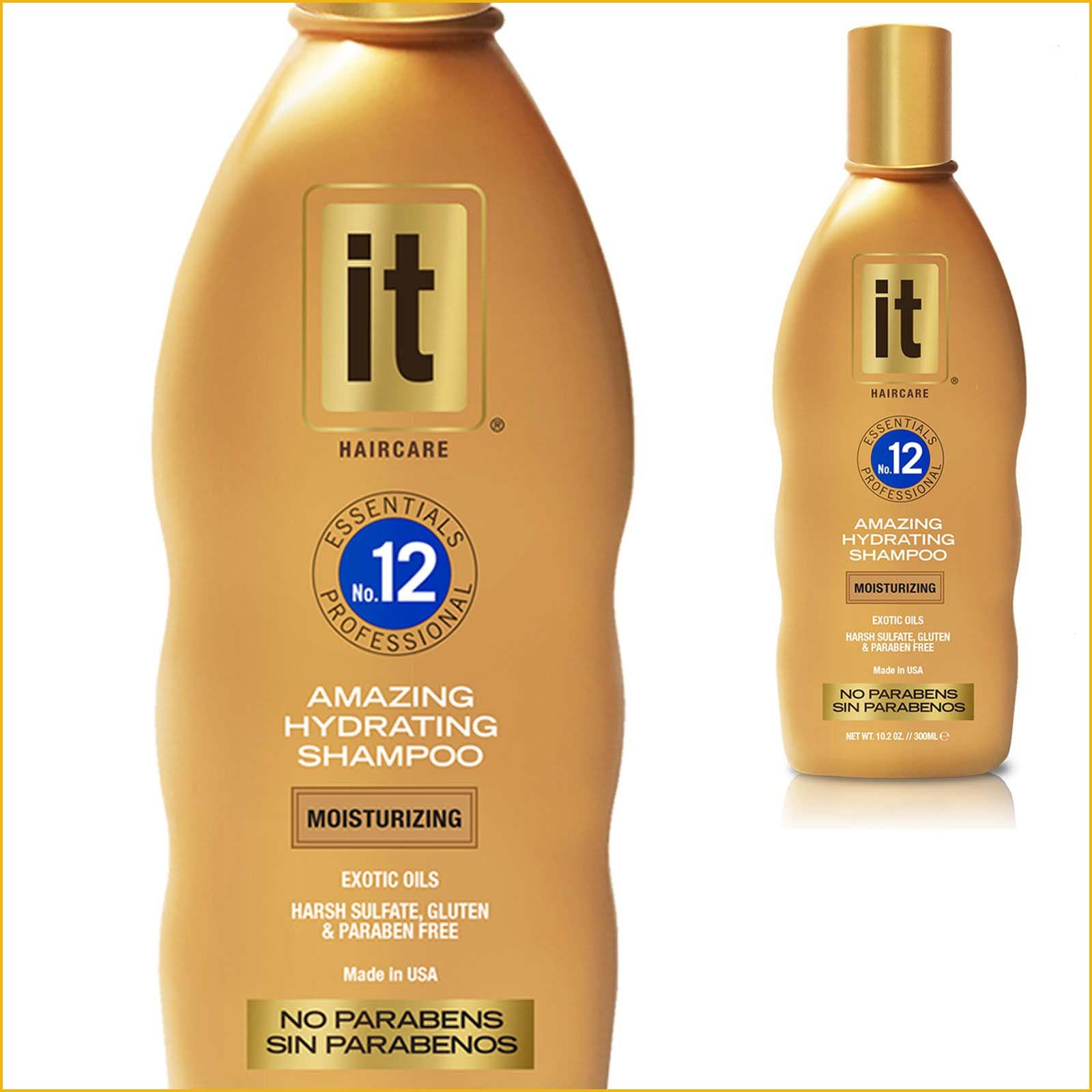 IT Essentials No. 12 Amazing Hydrating Shampoo - 10.2 oz