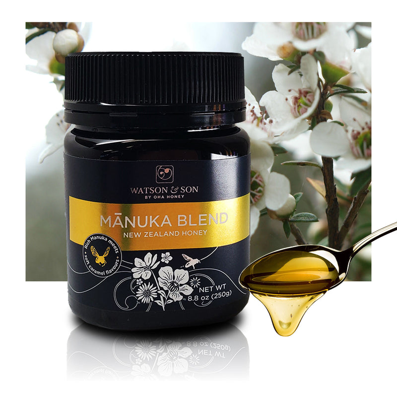 Manuka Blend New Zealand Honey 8oz