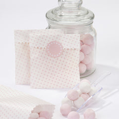 Mini Pink Spot Sweetie Bags