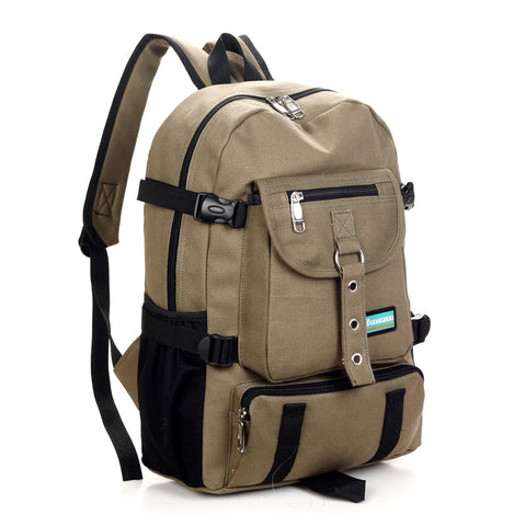 Multi-Purpose Heavy Duty Canvas Backpack