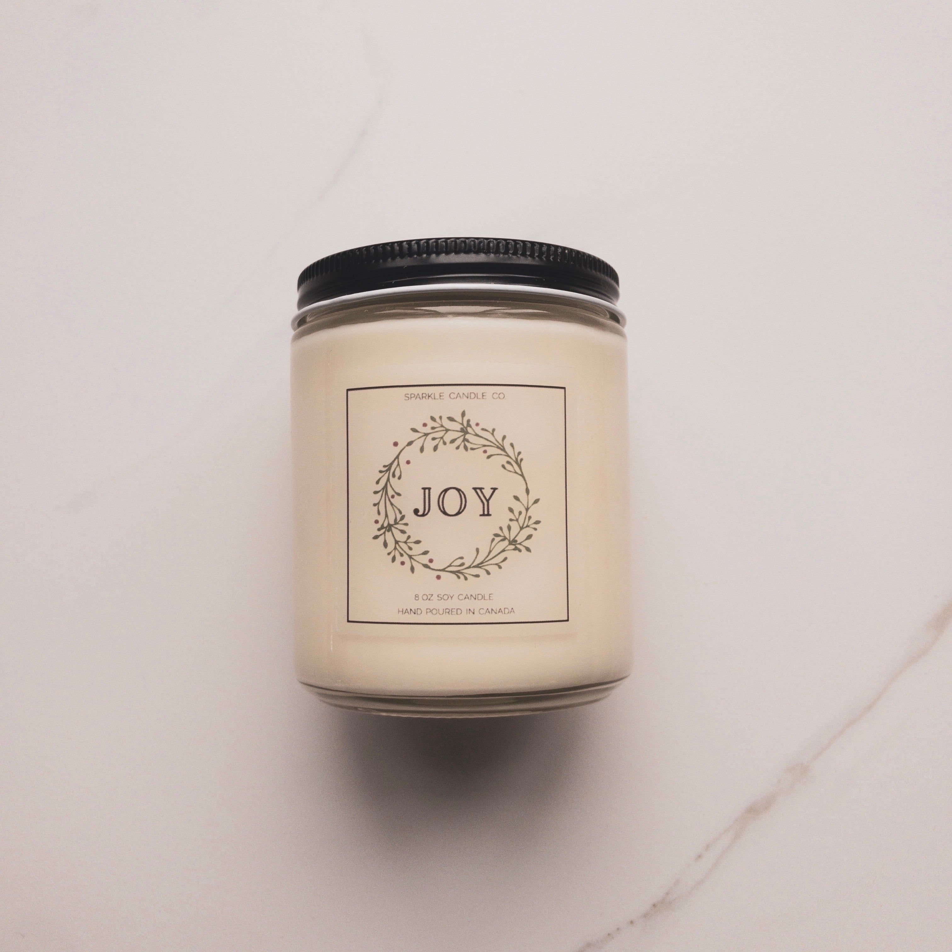 Sparkle Candle Co soy candle