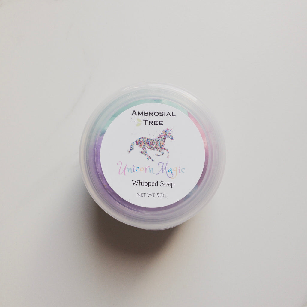 Ambrosial Tree Unicorn Whipped Soap