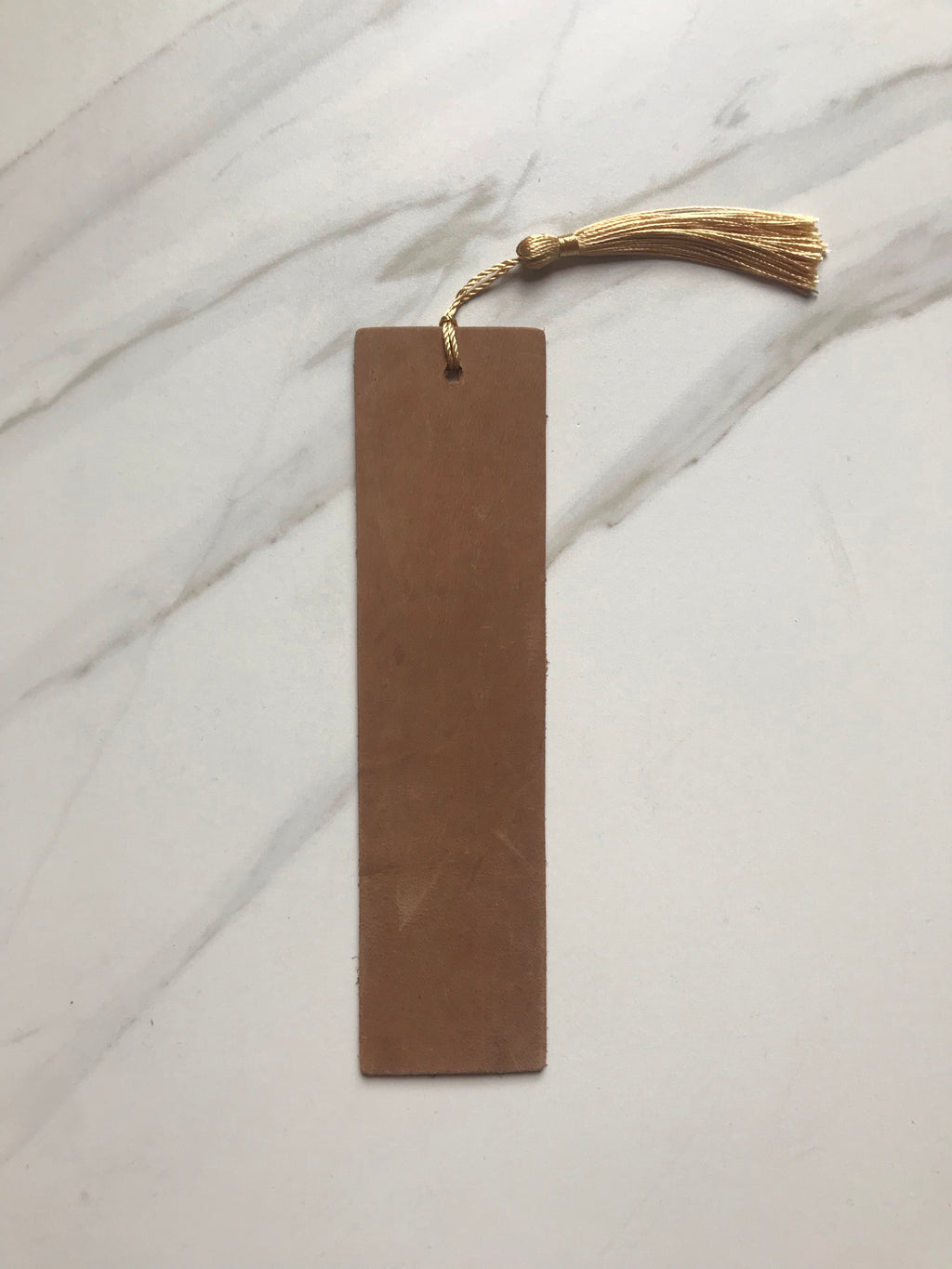 Engravable Leather Bookmark