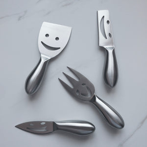Stainless Steel Cheese Knives (4)