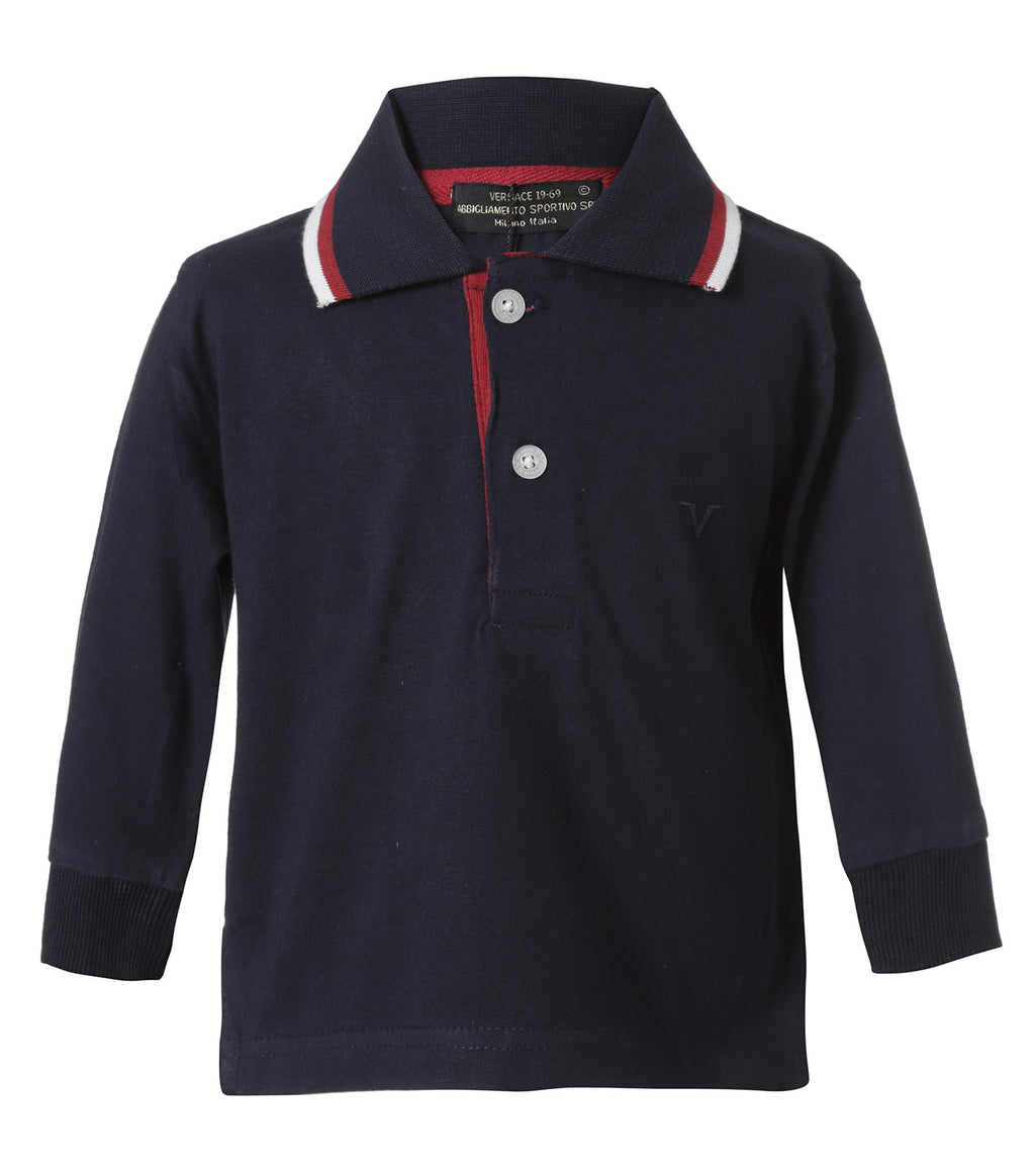 Polo Azul Marino Infant