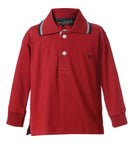 Polo Roja Infant Manga Larga