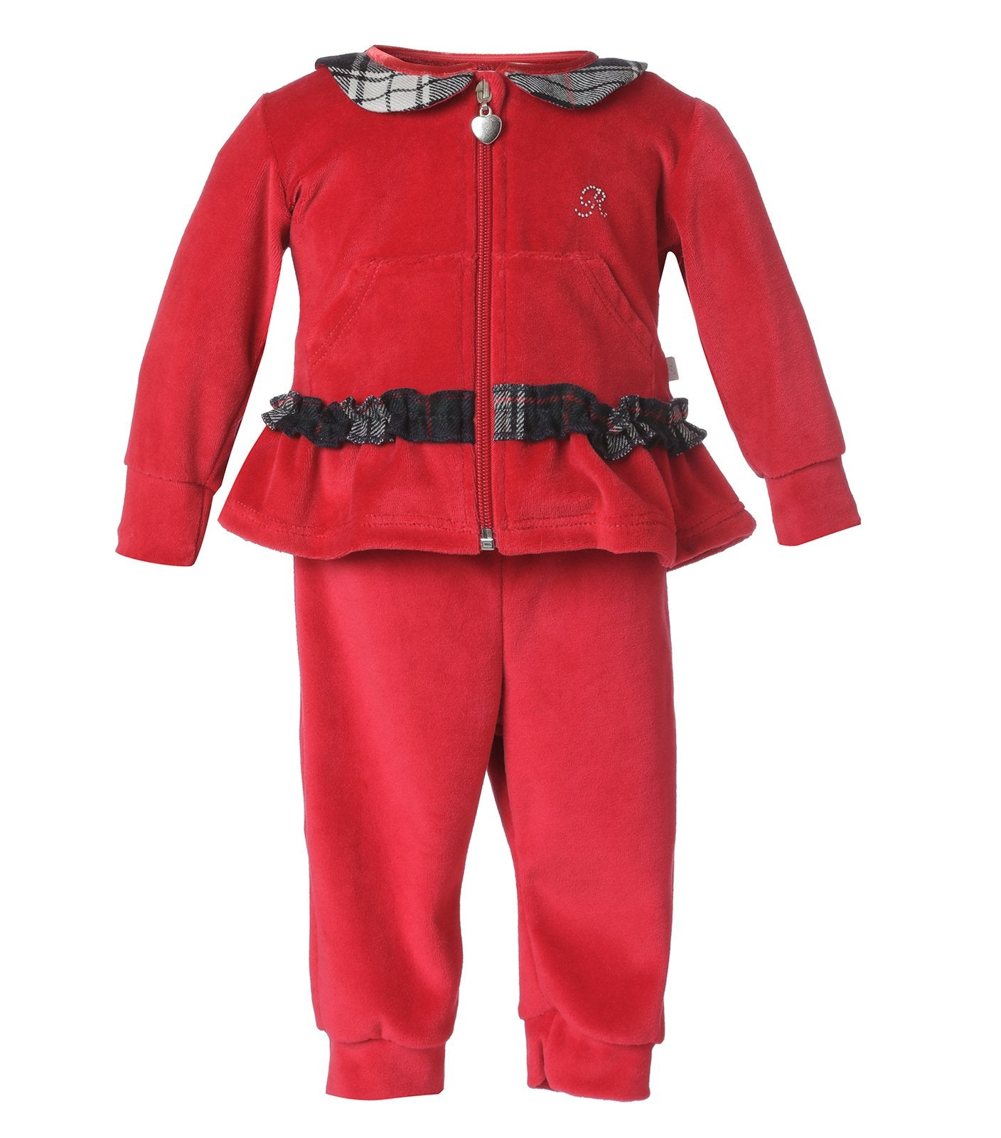 Set Terciopelo Rojo Infant