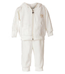 Set Terciopelo Blanco Infant