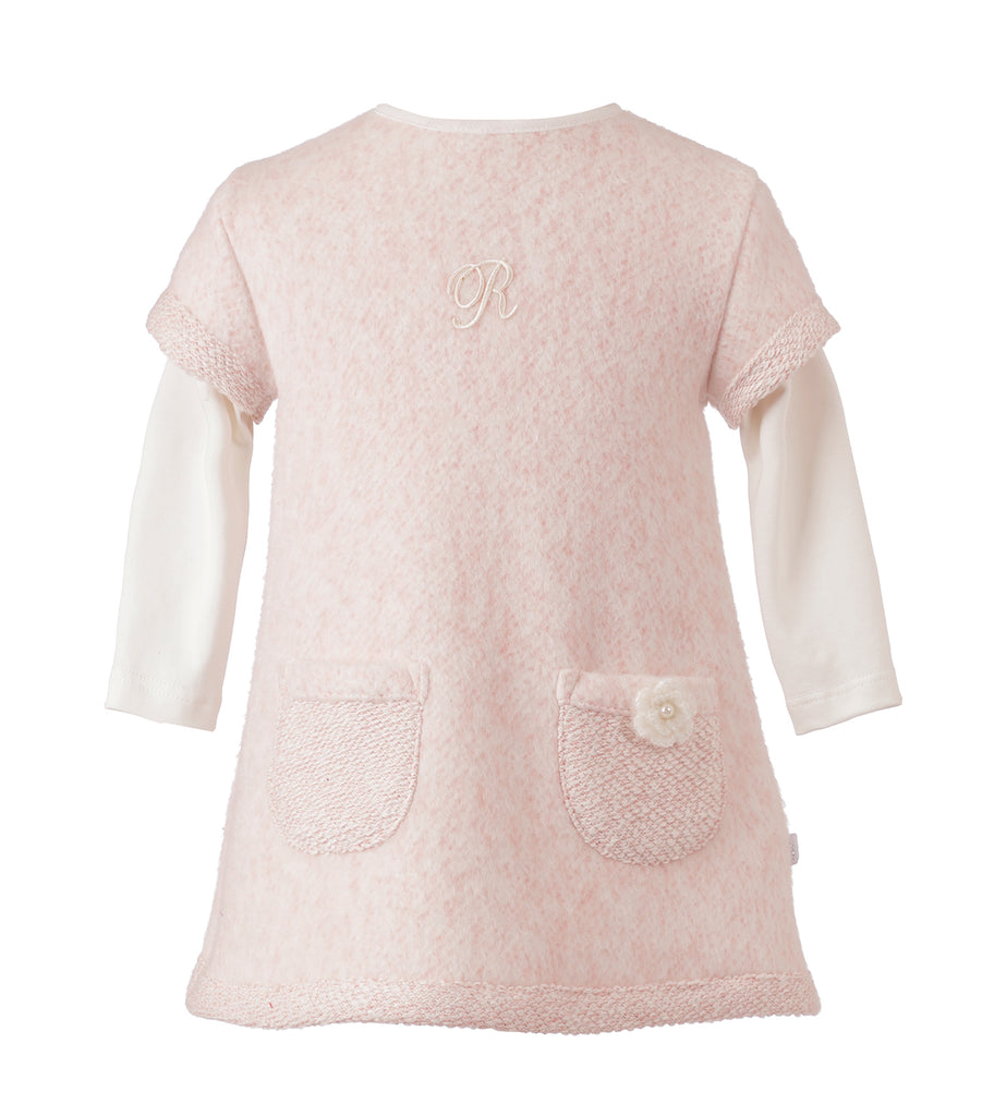 Vestido Rosa Manga Larga Infant