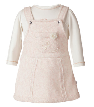 Set de Salopette Rosa Infant