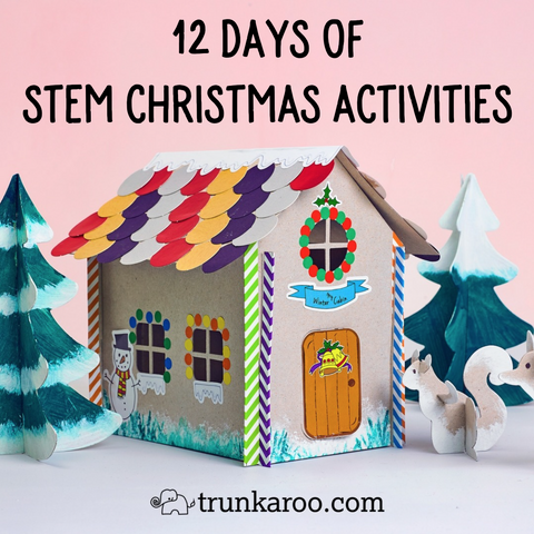12 Days of STEM Christmas Activities