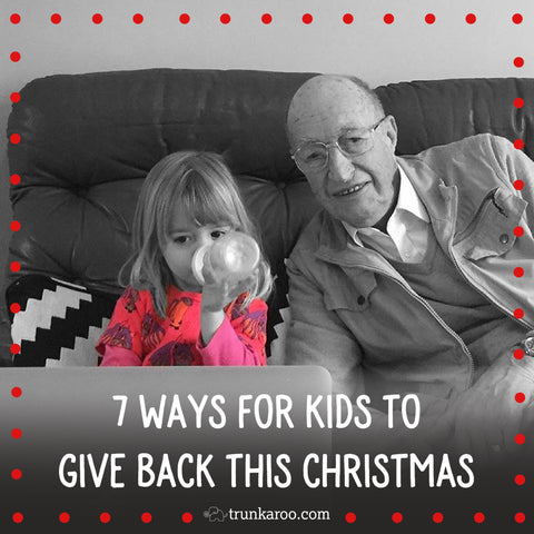7 Ways for Kids to Give Back this Christmas