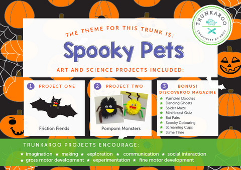 October Trunkaroo Theme: Spooky Pets
