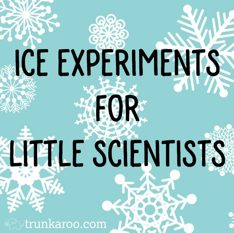 Ice Experiments For Little Scientists