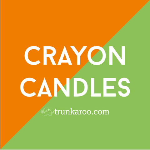 Make Your Own Candles From Old Crayons!