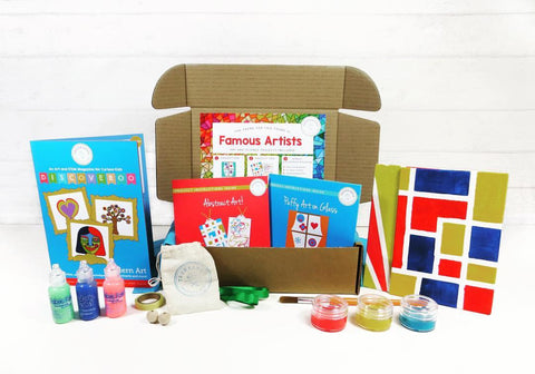 kids art craft box