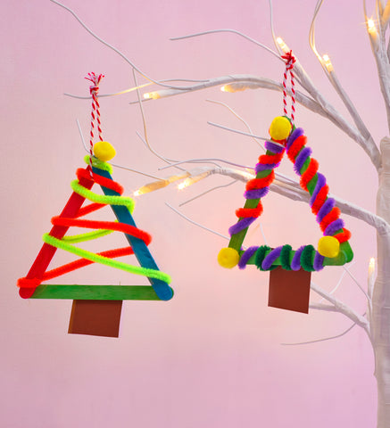 Lollipop Stick Christmas Decorations.5 Christmas Decoration Crafts Trunkaroo