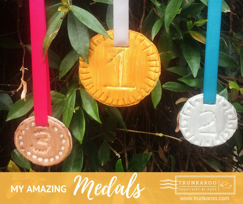 Trunkaroo Olympic Medals Activity