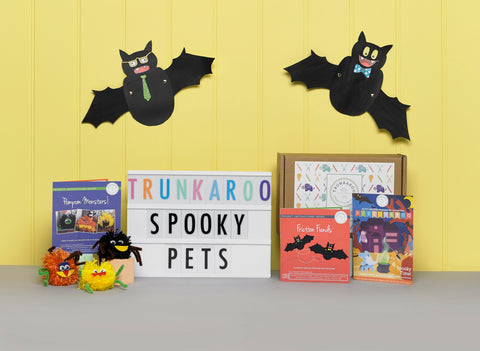 Halloween kids subscription box