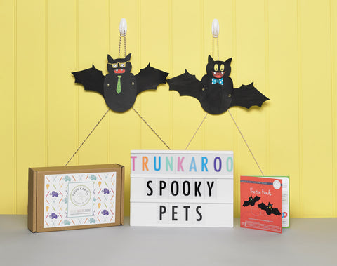 Trunkaroo Bats crafts and science
