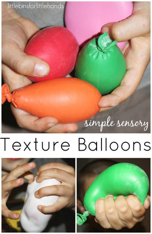 sensory balloon fidget toy