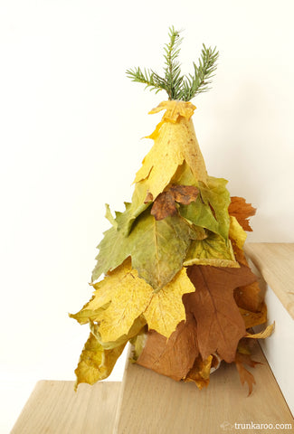 Christmas Tree Nature Craft