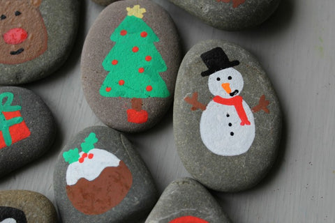 Story Stones Christmas Kids Activity