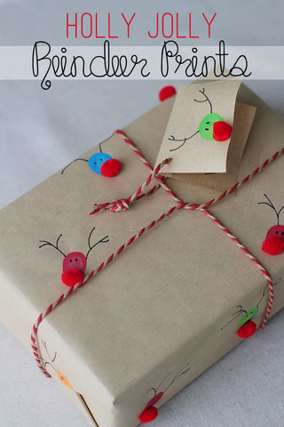 Wrapping Paper Christmas Craft