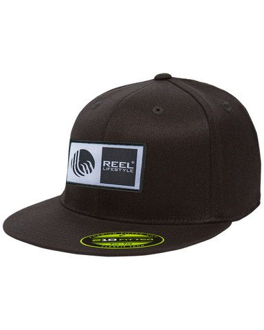 Premium 210 Fitted Hat - Original Logo Patch - Black