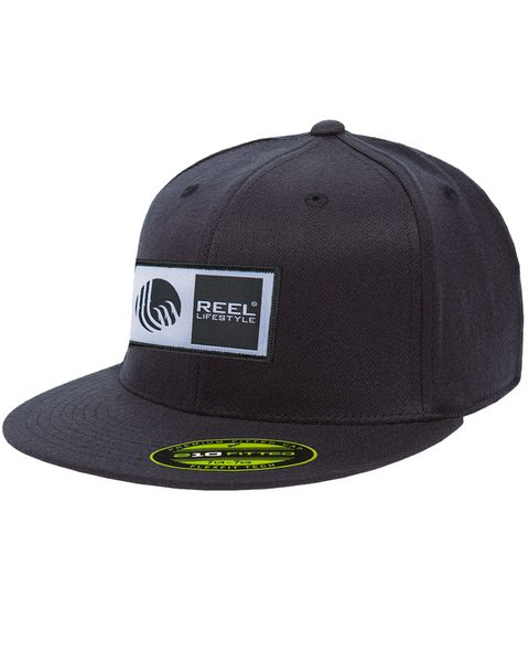 Premium 210 Fitted Hat - Original Logo Patch - Navy