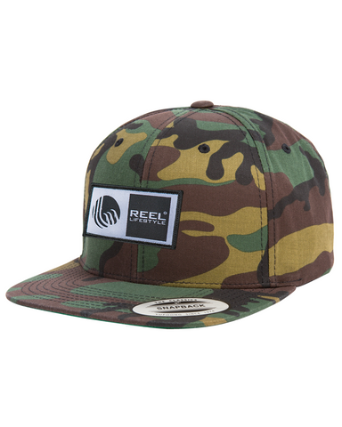 Camo Classic Snapback Flat Bill - Original Patch