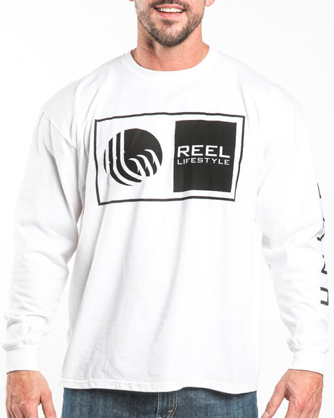 Logo Long Sleeve - White