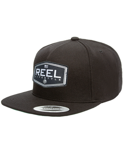 REEL Ovated Premium Snapback - Black