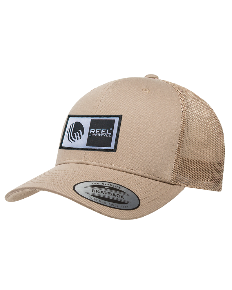 Retro Trucker Snapback - Tan