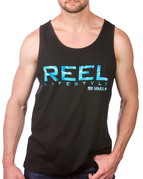 Waves Tank - Black
