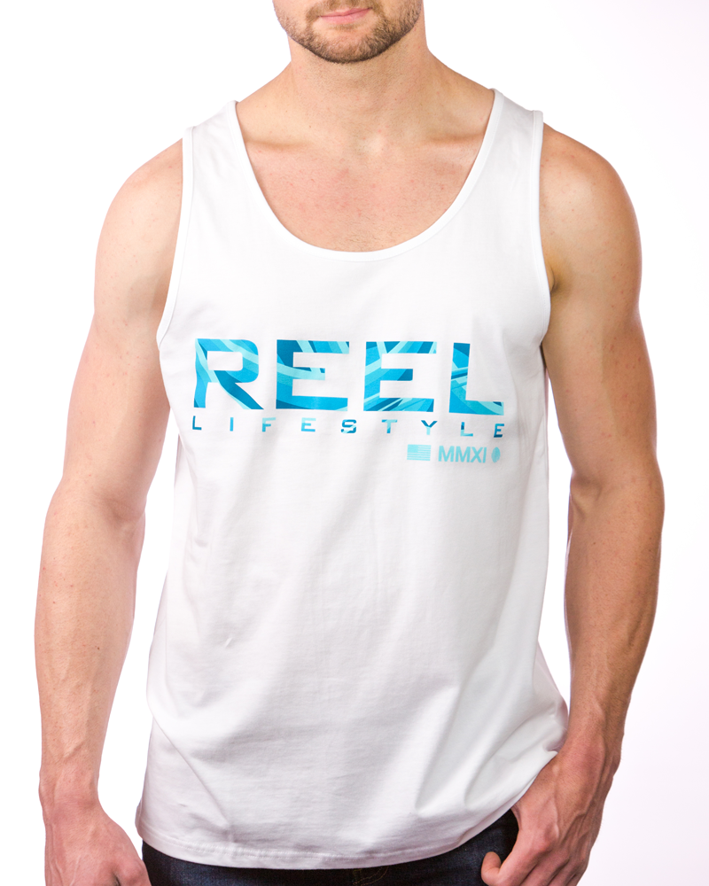 Waves Tank - White