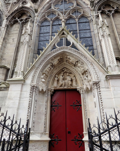 Notre Dame Side Entrance