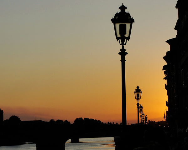 Arno River Sunset