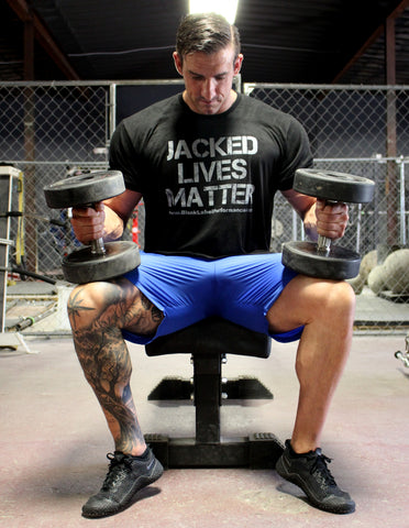 "Men's ""Jacked Lives Matter"" Lifting Tee"