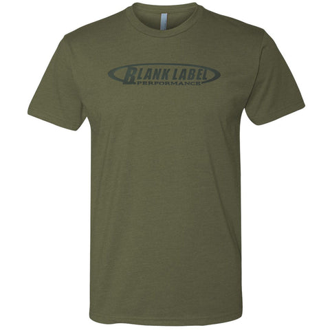 Subdued Military Green Triblend Tee