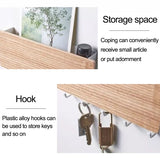 wall key rack shelf