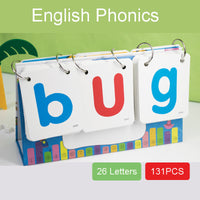 phonics learning flash cards